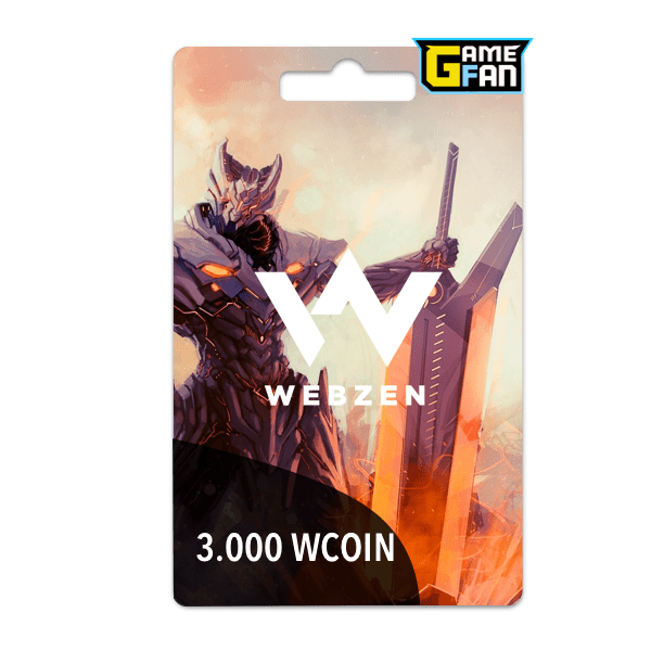 3000 WCoin para Webzen