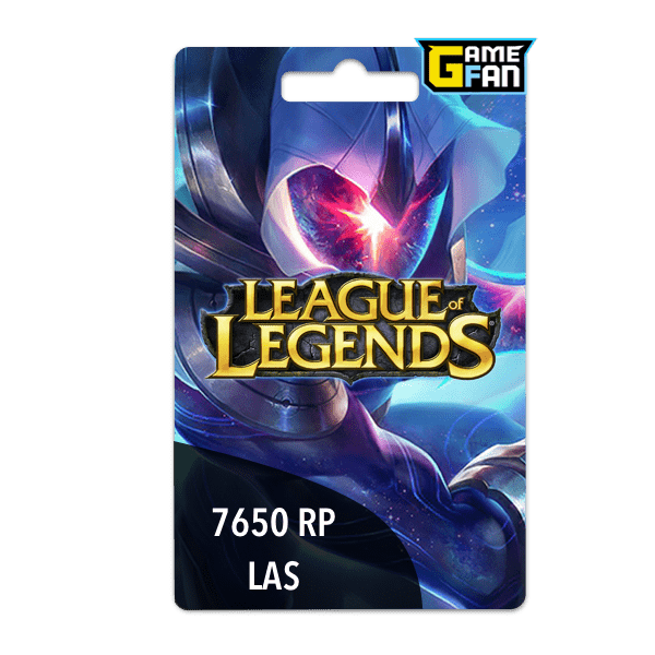 7650 Riot Points LAS para Riot Games