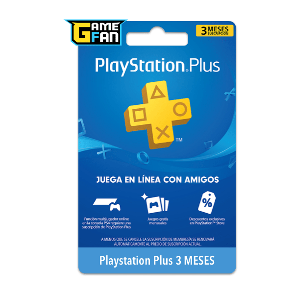PSN Plus 3 Meses (US) para Playstation