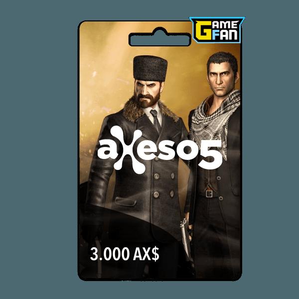 3.000 AX$ para Axeso5