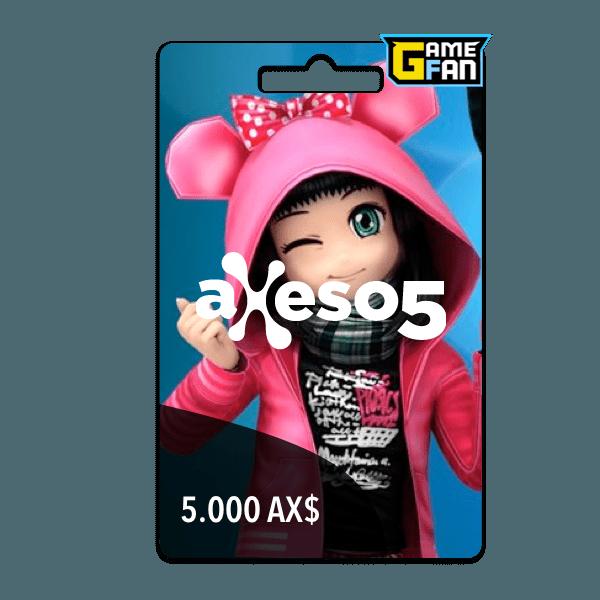 5.000 AX$ para Axeso5