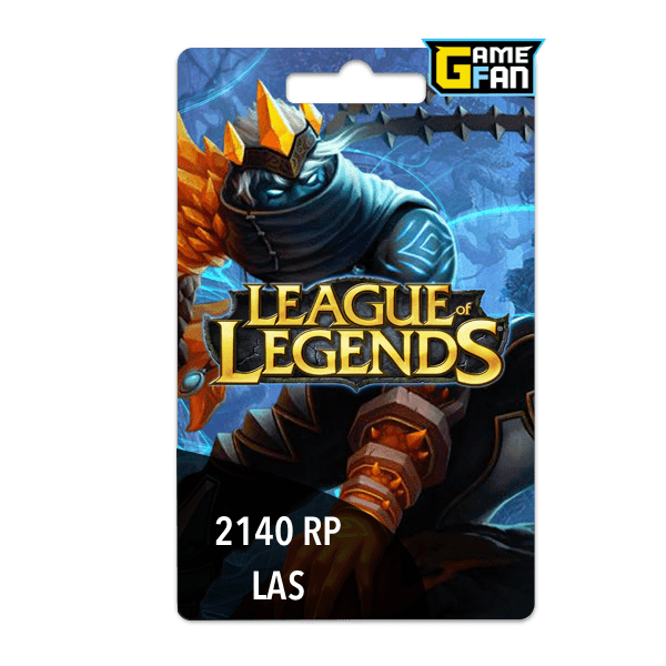 2140 Riot Points LAS para Riot Games