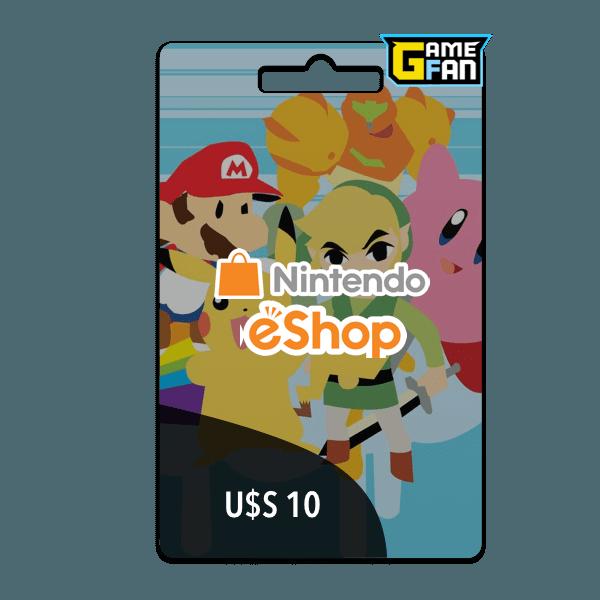 Nintendo U$S 10 para Nintendo