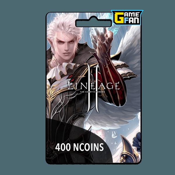 400 NCoins para NCSoft