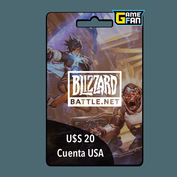 Battle.net (US) $20 para Blizzard