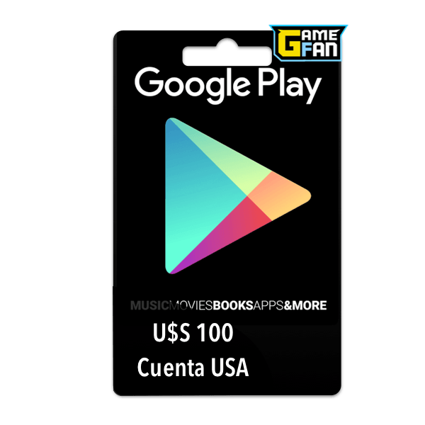 Google Play U$S 100 para Google