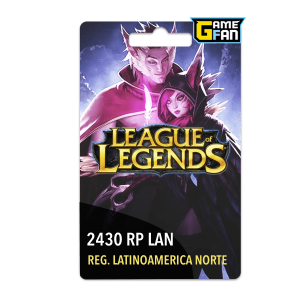 2430 Riot Points LAN para Riot Games