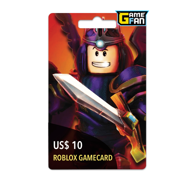 Roblox US$ 10 Gamecard para Roblox