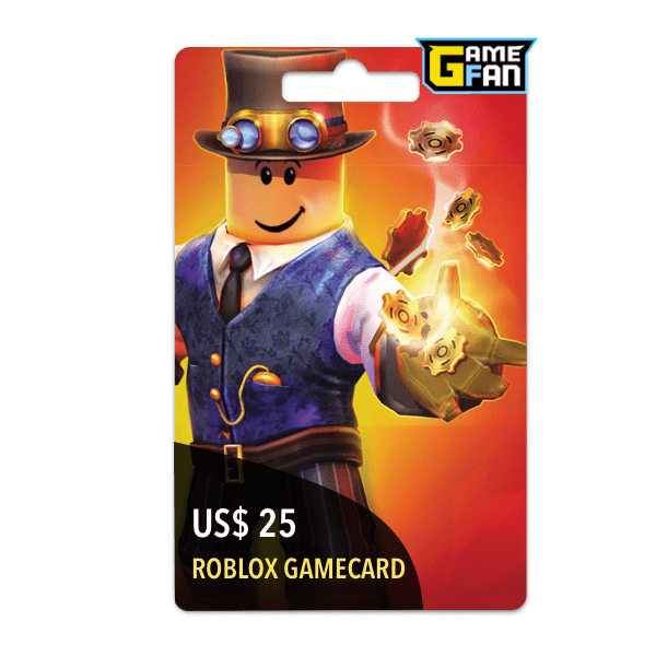 Roblox US$ 25 Gamecard para Roblox