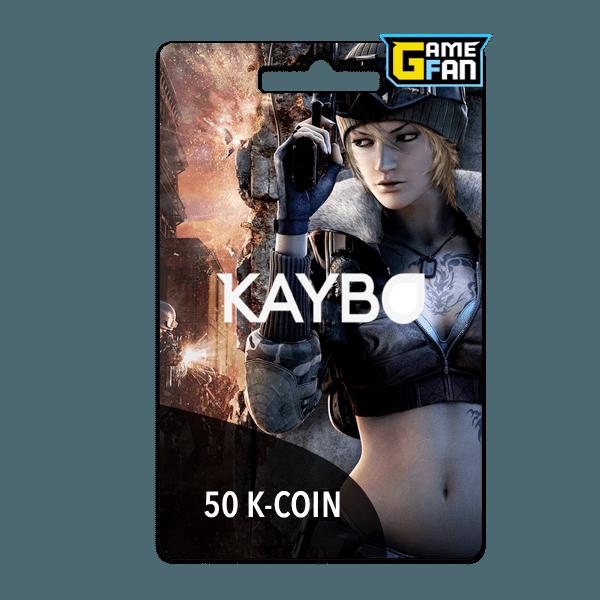 50 K Coin para Kaybo