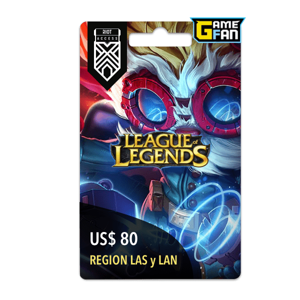 14500 Riot Points para Riot Games
