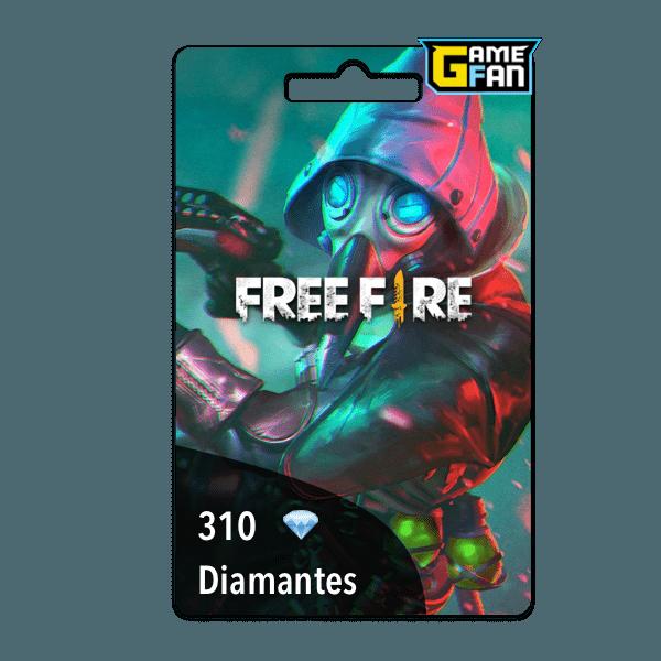 310 diamantes para Garena