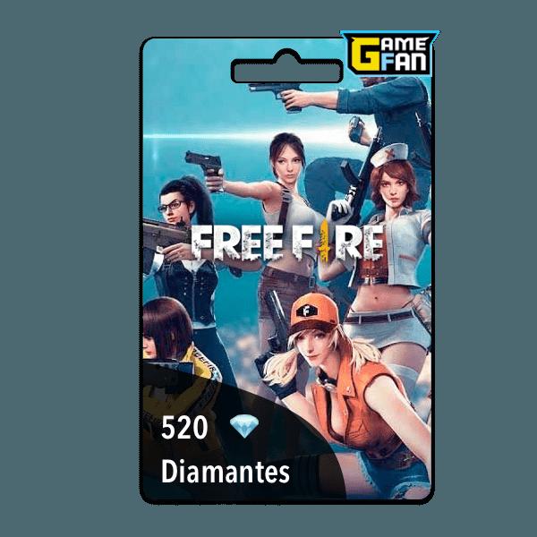 520 diamantes para Garena