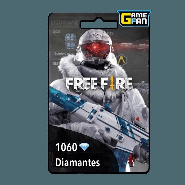 1060 diamantes para Garena
