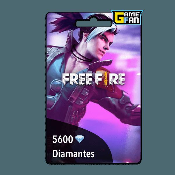5600 diamantes para Garena
