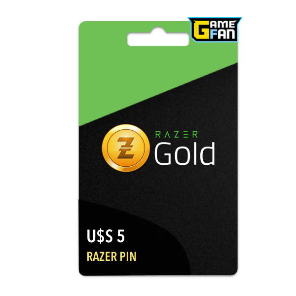 Razer Gold U$S 5 (US) para Razer