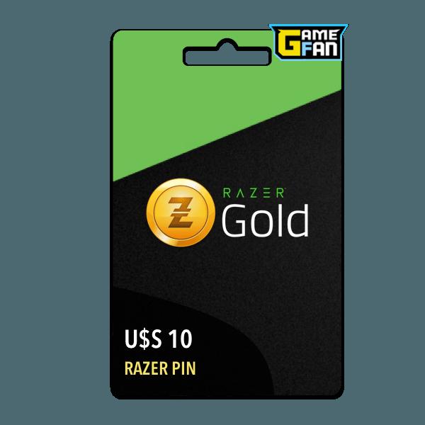 Razer Gold U$S 10 (US) para Razer