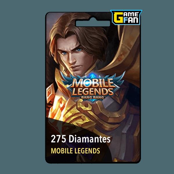 275 diamantes para Moonton