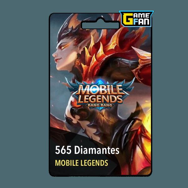 565 diamantes para Moonton