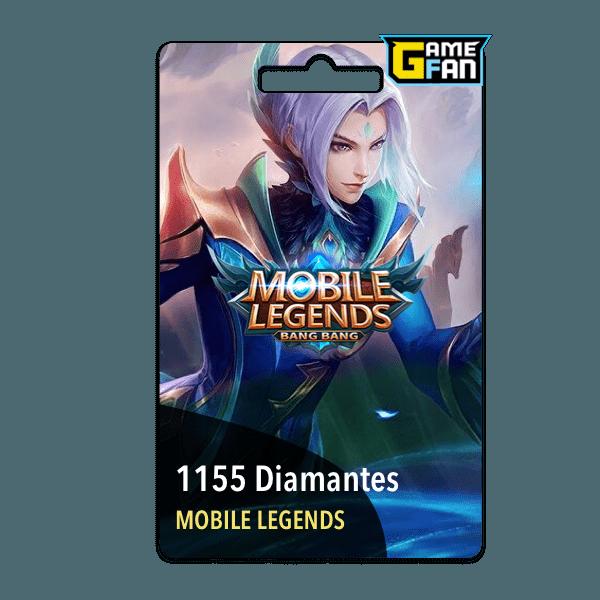 1155 diamantes para Moonton