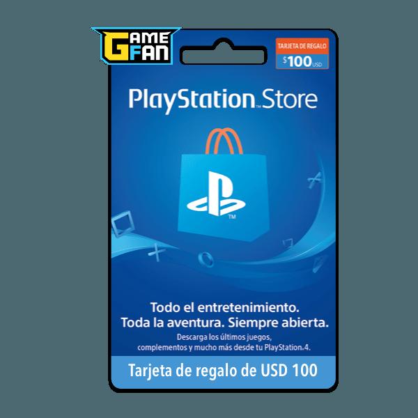 Tarjeta de regalo USD 100 para Playstation
