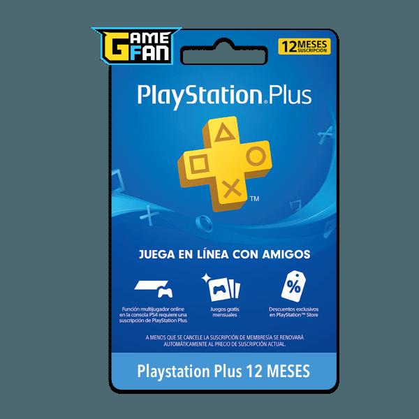 PSN Plus 12 meses (US) para Playstation