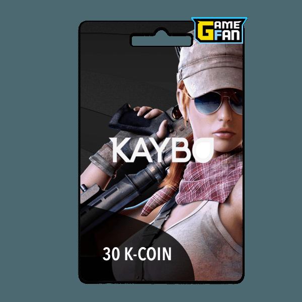 30 K Coin para Kaybo